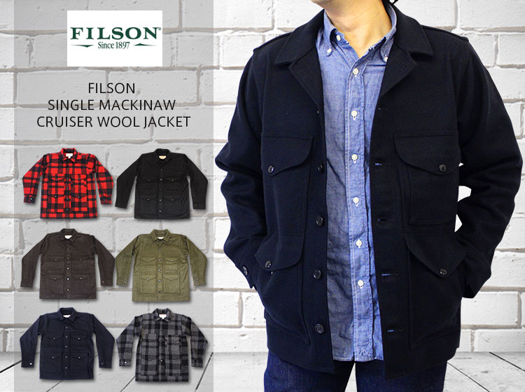 Filson single mackinaw