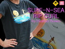 "Collaboration with women's T shirts サーフアンドシー & Rip Curl ""WAVE,"" to Heather Brown ' EGTELNP"