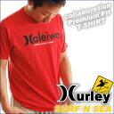 "And collabo ""Harley & サーフアンドシー' NEW collaboration mens TEE 4""HALEIWA' MTSPEIWA"