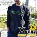 "Collabo 2014Autumn mens long sleeve T shirt ""Harley, surf and sea',""HALEIWA'"