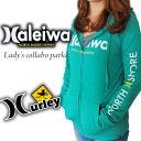 Women's NEW ZIP Hoodie サーフアンドシー & Harley collaboration ZIP hoodies EGTHZHALS
