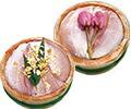 金箔と桜花入笹漬け-半樽2個