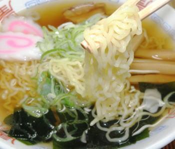 八戸ラーメン(煮干醤油味)