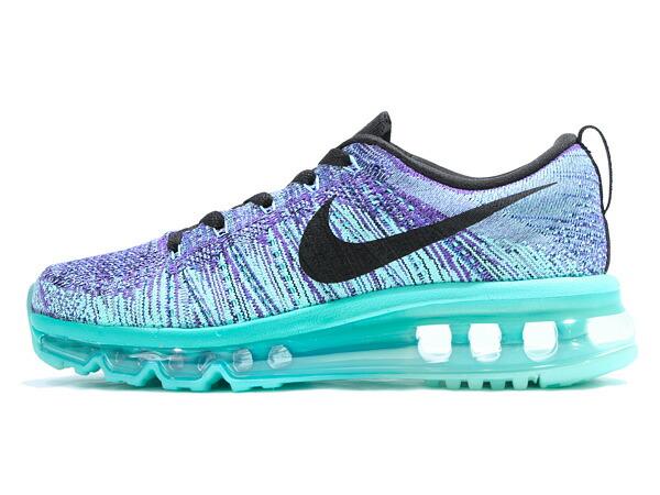 Nike Flyknit Air Max Blau