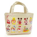 Mini-Thoth who is convenient for a disney mini-tote bag happiness ribbon lunch bag and sub♪