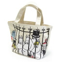 Mumin (mini-Thoth who is convenient for MOOMIN) mini-tote bag cage lunch bag and sub)♪