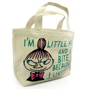 Mumin (mini-Thoth who is convenient for MOOMIN) mini-tote bag Mii English letter ribbon lunch bag and sub)♪