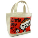 Handy Moomin ( MOOMIN) mini tote bag ミイアップル lunchbag and sub mini tote bag!