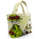 Mumin (mini-Thoth who is convenient for MOOMIN) mini-tote bag flower lunch bag and sub)♪