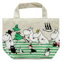 Handy Moomin ( MOOMIN) mini tote bag running lunch bag or sub mini tote bag!