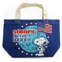 Snoopy ( SNOOPY) mini tote bag astronauts lunchbag and sub handy mini tote bag!
