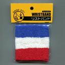 Outlet wristband 8 cm type border (blue, white and red) men's / women's (unisex) unisex