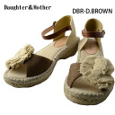 Daughter & Mother sandals 3colors (DM-203) SS14Z sandals Lady's Shin pull jute casual low heel summer