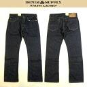 Great DENIM SUPPLY RalphLauren denim denim & supply Ralph Lauren jeans Indigo Denim bootcut BOOTCUT size 36 inch big size and 02P04Aug13