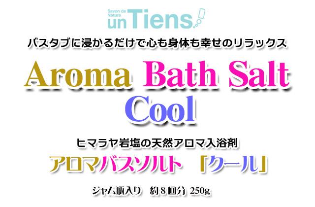天然入浴剤アロマバスソルトクール250top