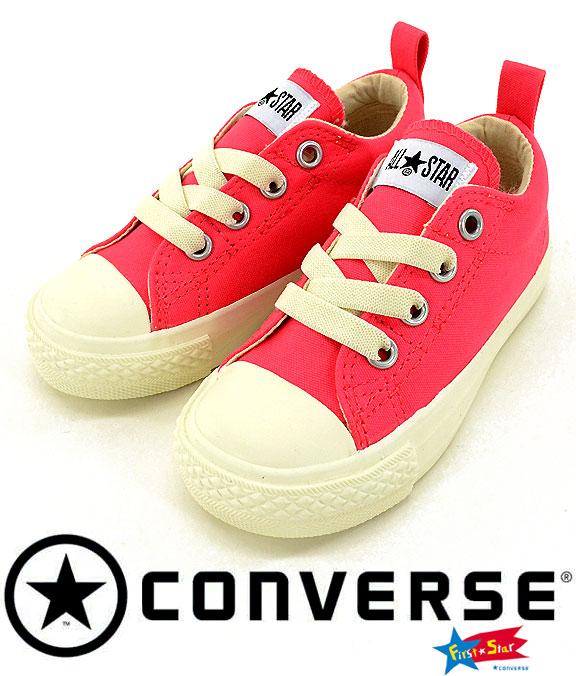 ����С��� ���å����塼�� CONVERSE FIRST STAR CHILD ALL STAR N MONOSOLE SLIP OX 3CJ939 ����åݥ�