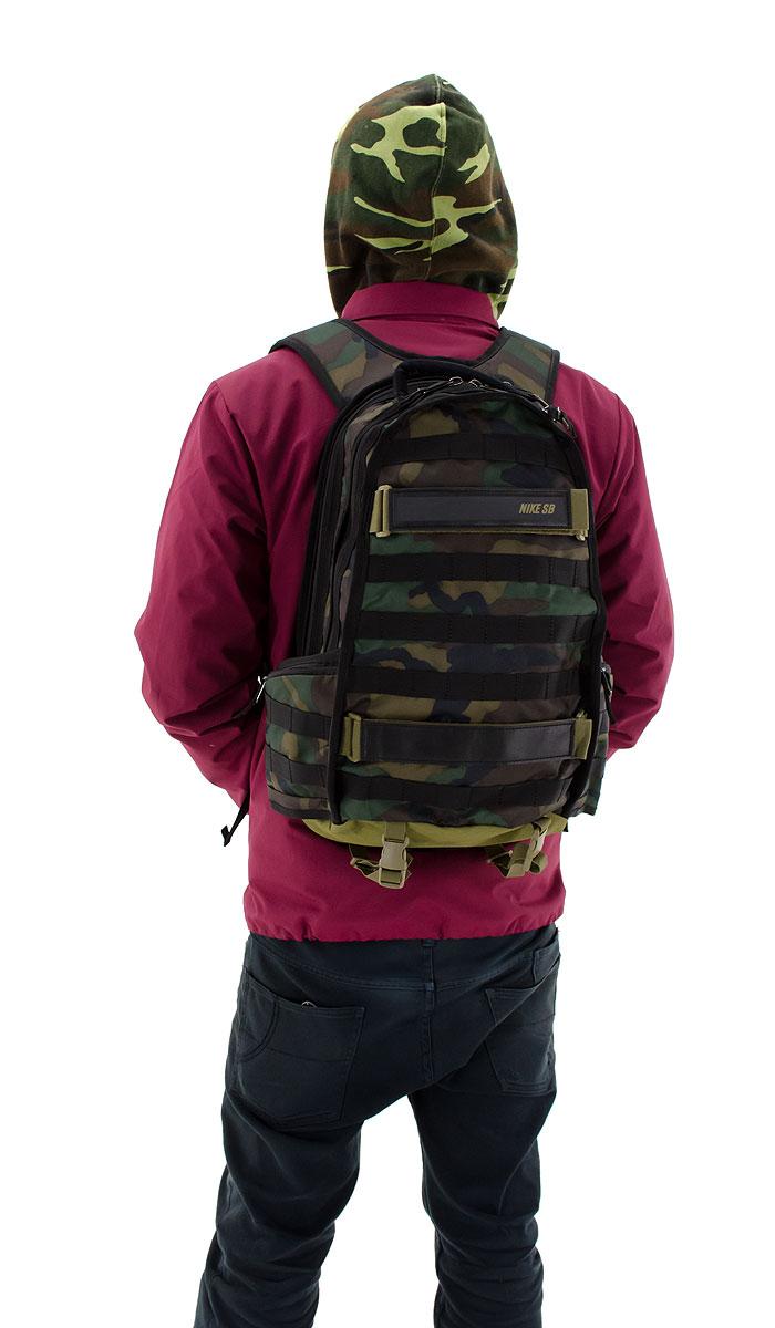 nike backpack camo