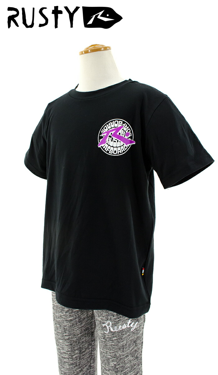 RUSTY-キッズラッシュガード-ラスティ-子供用ラッシュガード-半袖-水着-UVカット-966633