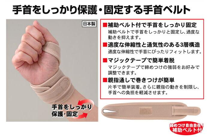 腱鞘炎 サポーター・手首(てくび)サポーター・手首用