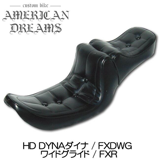 【ajito】American Dreams アメリカンドリームス Wカスタム ボタンダウンシート DYNAダイナ