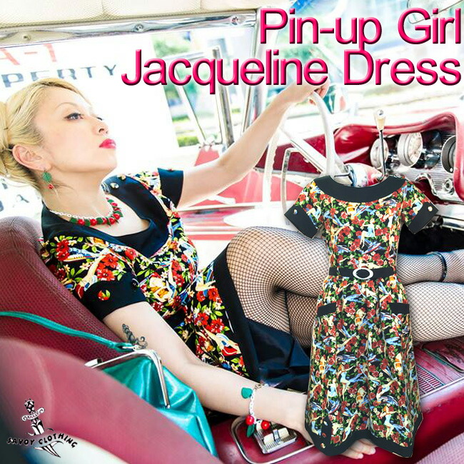 【SAVOY CLOTHING】Pin-upGirl Jacqueline Dress