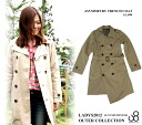 JOHNBULL( John Bull) asymmetric trench coat (outer, al698)// Rakuten /10P01Feb14)