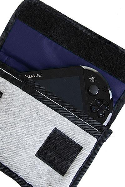 チャムス バック CHUMS ショルダー ミニポーチスウェット Mini Pouch Sweat (ch60-0727) チャムス ショルダー チャムス ショルダーポーチ CHUMS(チャムス)ONLINESHOP チャムス ショルダー CHUMS ショルダー ゲームポーチ スマホケース デジカメケース モバイルケース 3DSLL 3DS DSケース