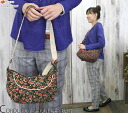 COCUE (cuckold) small floral design corduroy shoulder bag (17327) // Lady's / shoes / Rakuten /10P13Dec13_m