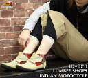 Indian Motocycle (インディアンモト cycle) hemp material Concho with LUMBEE shoes (Shoes / Sneakers / middle cut /id-620) men's and women's male / female / Indian motorcycle / boots / sale /SALE / slip-on
