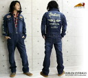 Indian Motocycle Company (インディアンモトサイクルカンパニー) embroidery denim all-in-one (emblem, mao201) // men / Rakuten /fs3gm/10P10Nov13