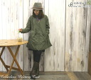 It is // Rakuten /10P20Dec13 (AL646) (Lady's) JOHNBULL (John Bull) C/N オックスカラーレスミリタリーハーフコート (jacket)