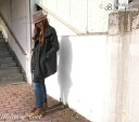 It is // Rakuten /10P20Dec13 JOHNBULL (John Bull) rayon cotton satin asymmetric single garment made to look double at the sleeve and skirt military coat (jacket) (AH749) (Lady's)