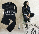 Denim JOHNBULL one wash vintage engineer overalls all-in-one ( overalls jeans pants snag strung 11441-11 ) men's fashion work wear long sleeve crew mechanic men's 10P25Oct14