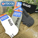 OUTDOOR PRODUCTS (OUTDOOR products) monotone ankle sneaker socks (ankle socks /PASX1022) men's / Lady's /1P/ Shin pull / white / gray / man / shortstop socks / footwear /10P30Nov13