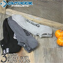 OUTDOOR PRODUCTS (OUTDOOR products) half pile monotone 3P casual ankle socks (PASX3016) / Rakuten /fs3gm/10P10Nov13