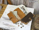 TIDEWAY (tide way) antique cotton duck hook-type long type leather wallet (real leather head wallet, billfold) // Rakuten /fs3gm