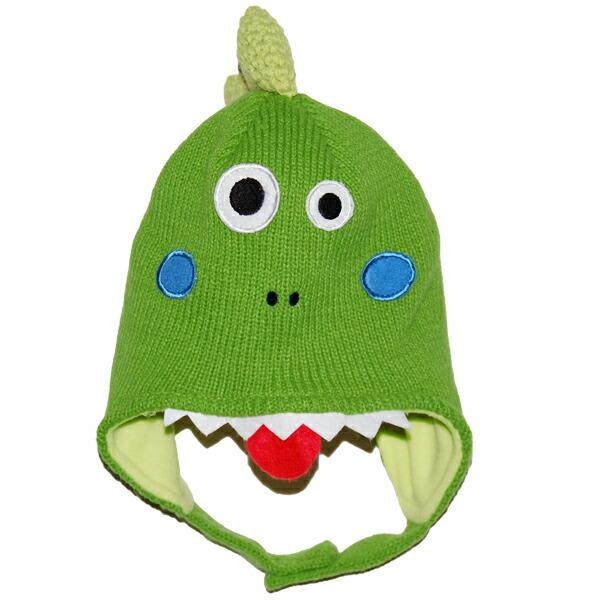 恐龙寒冷的天气 ニットミトン 手套  与上设置长陈宝宝是绝对超级可爱