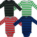 Four pieces of horizontal stripe boy long sleeves body suit sets for Carter's (Carter's) boys, baby gift, rompers, dark blue cover oar, cotton underwear, man and woman combined use, regular article, body suit