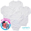 Angel long-sleeved Bodysuit Carter's ( Carter's) unisex a white set of 4, white rompers, cotton tank tops, body suits, underwear