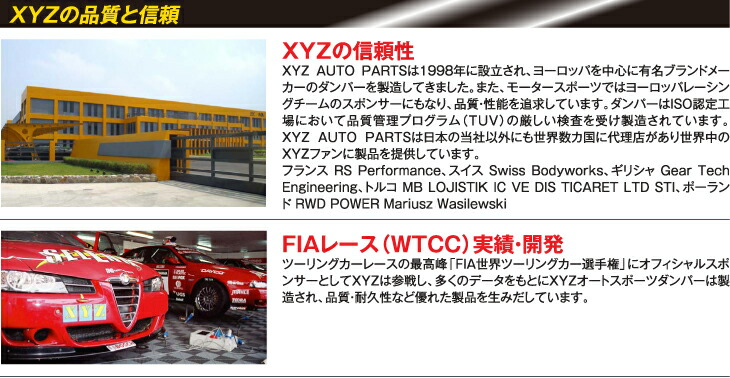 XYZ AUTO PARTS