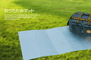 """Folding type aluminum roll mat Grand affiliate / leisure mat width 1 m (1.8 m in length) U-P845 ( aluminum folding the tent mats, outdoor mats, thermal barrier sheets, yoga mat, silver Matt )"