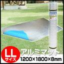 Mat) for mat for aluminum roll mat LL size (U-P852)( tents, out doormat, 遮熱 sheet, yoga mat, silver mat, swimming pools