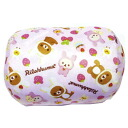 New arrival rilakkuma roll cushion whole pattern (light pink ★ small size)