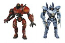Two kinds of NECA Pacific Rim essential Jaeger deluxe action-figure sets for US