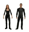 NECA divergent action figure set of 2