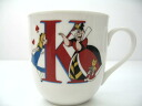 Peace of Japan domestic licensing products ★ initial mug Cup (K) Disney