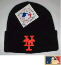 "MLB measure knit cap DX ""New York Mets"" BK"