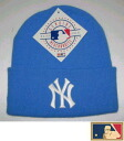 "MLB measure knit cap DX ""New York Yankees"" light blue"