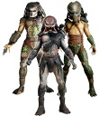 US Edition NECA predators series 2 ★ action figures set of 3