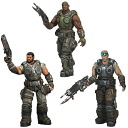 US Edition NECA gears of war 3 series 2 action figures set of 3